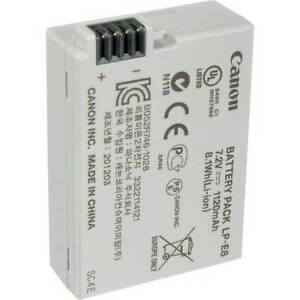 NEW Canon LP-E8 Rechargeable Lithium-Ion Battery Pack (7.2V, 112 Kingswood Penrith Area Preview