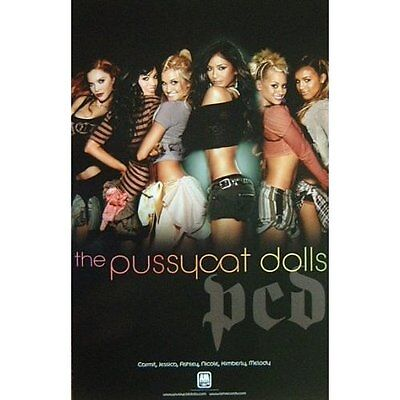 Pussycat Dolls poster : pcd : promo poster : 11 x 17 inches