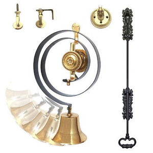 Butlers Bell Kit Brass, Iron Pull