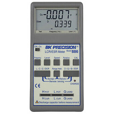Bk Precision 886 Synth. In-circuit Lcresr Meter 0.5 Accy 100khz