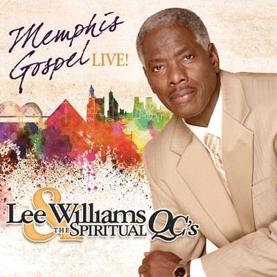 Lee Williams & the Spiritual QC's, Lee Williams - Memphis Gospel Live [New CD] - Lee Williams Gospel Music