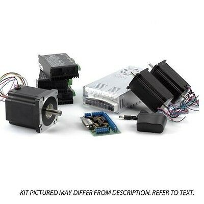 3-axis Nema2334 Stepper Motor Upgrade Kit 1x 906ozin 2x570ozin 3x Drivers