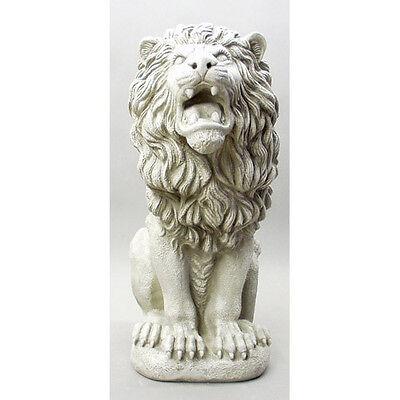 "Roman Estate Lion Statue Sculpture 30"" for Home or Garden"