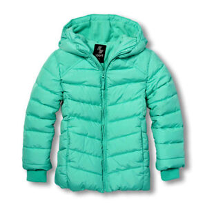 Girls PLACE Sport Winter Insulated Hooded Jacket. Size 4T