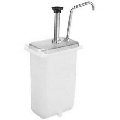 Server Products Oem 83330 Cp-f Stainless Steel Condiment Pump With Jar 82557