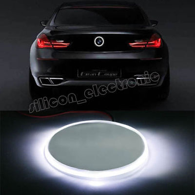 82mm Brilliant White Emblem LED Background Light For 2001-2005 BMW 325i 325xi