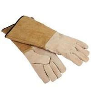 BRAND-NEW-HOMEBASIX-0224279-FIREPLACE-PIGSKIN-WOOD-STOVE-GLOVES