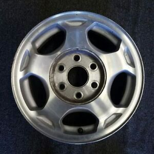 Chevy 4x4 aluminum wheels no centers