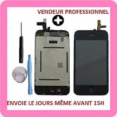 IPHONE 3G BLOC ECRAN COMPLET ; LCD / VITRE TACTILE / CHASSIS / PREMONTER+ OUTILS