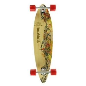 Bustin Surf Pintail Longboard Complete Fire Water 38