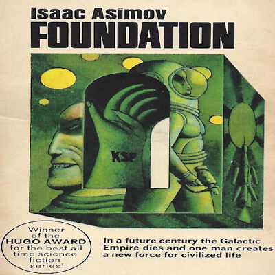 The FOUNDATION Series By Isaac Asimov (8 MP3 Audiobook Collection) DVD