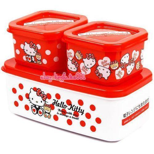hello kitty bento box ebay. Black Bedroom Furniture Sets. Home Design Ideas