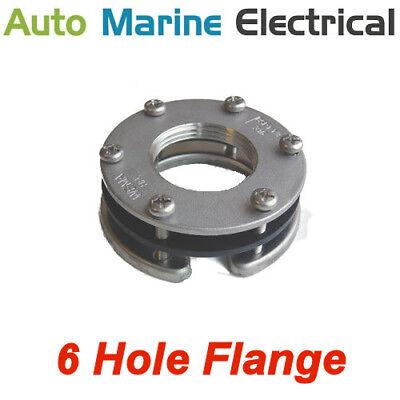 Wema Fitting Flange for Fuel/Water Level Sender & Gauge - 6 Hole Screw Fitting