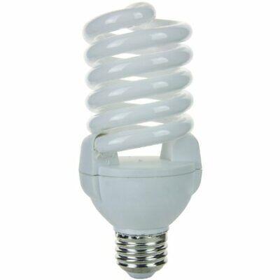 Sunlite SMS26F/27K 26W Super Mini Spiral CFL Light Bulb E26 Base Warm White ()