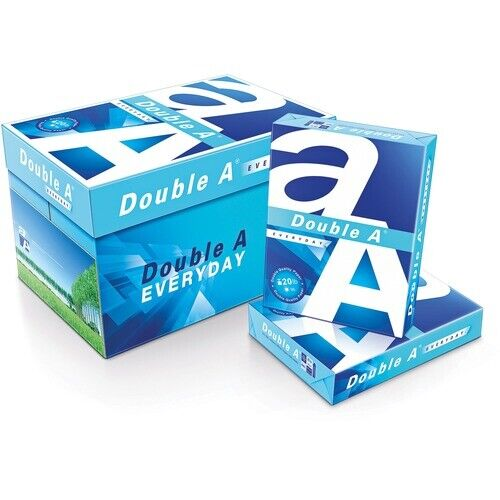 "Double A Copy Paper, Legal-Size, 8-1/2""Wx14""Lx2-1/2""H, 5000/CT, White"