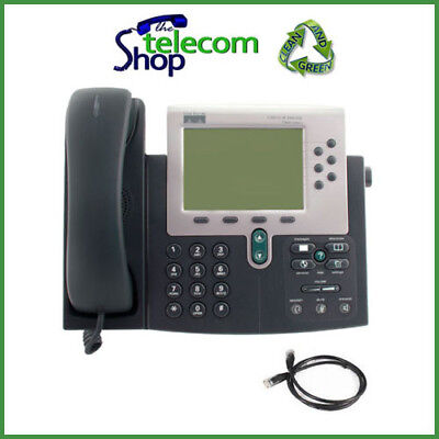 Cisco Ip 7960g With Sip Firmware Voip Phone Wo Psu