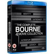 Bourne Collection Blu Ray