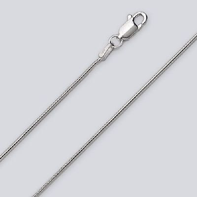 Snake Chain Anklet  -- 10 inch* (1.0mm*) -- .925 Sterling -