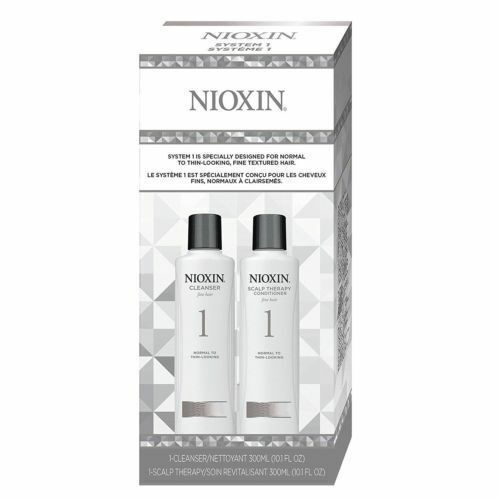 Nioxin System 1 Duo Cleanser + Scalp Therapy, Fine Hair | No
