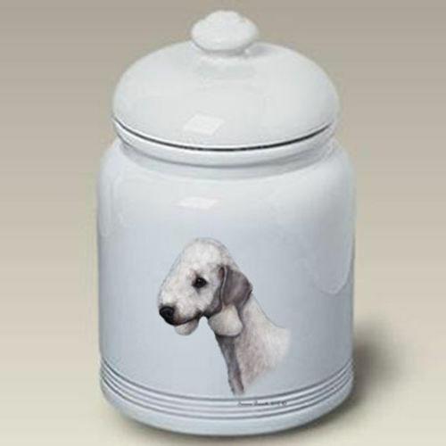 Bedlington Terrier Ceramic Treat Jar TB 34131