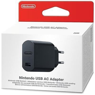 NINTENDO Classic Mini Super NES Blocco Alimentatore Per Il Cavo USB - Limited