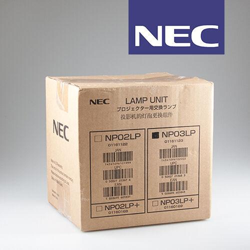 NEC NP03LP — Originale NEC-Ersatz-Lampe für NP60 _ Einzelstück, statt UVP 448,-€
