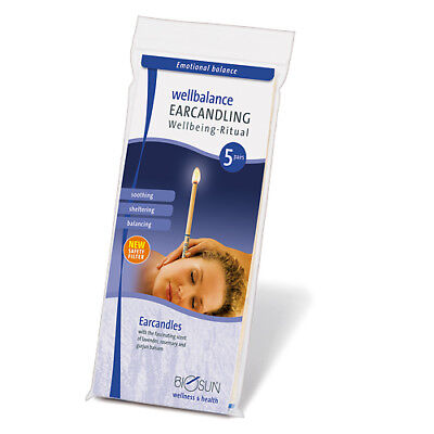 BIOSUN LAVENDER, ROSEMARY & GURJUN BALSAM (WOOD OIL) EAR CANDLES 5 Pairs for sale  Shipping to Canada