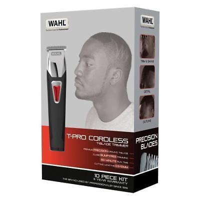Wahl T-Pro Recargable Cortapelos Hombre Cabello Afro T-Hoja Forma Up GB