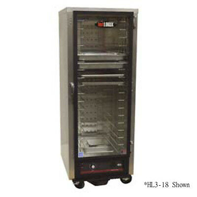 Carter-hoffmann Hl3-8 Half Height Mobile Heating And Holding Cabinet