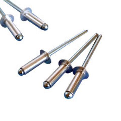 50  Aluminum POP Rivet (4-8) 1/8 x 1/2 Grip Check Our Store 4 More!