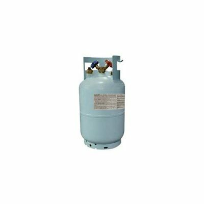 Mastercool 67010 30 Lbs R134a Recovery Tank With Float Turn Off Switch