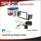 Car Audio & Video Dashboard Installation Kits for Holden VX