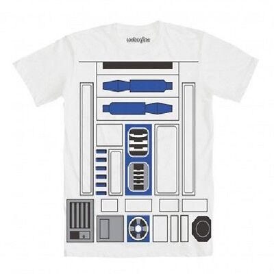 I Am R2D2 Star Wars Lucasfilm Roboter Skywalker Herren-Kostüm T-Shirt (R2d2 Kostüm Erwachsene)