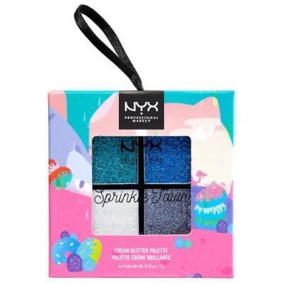 NYX Sprinkle Town Cream Glitter Palette Peppermint