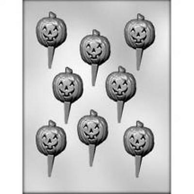 PUMPKIN PICS CHOCOLATE CANDY MOLD DIY HALLOWEEN CAKE CUPCAKE TOPPERS PARTY - Party Pics Halloween
