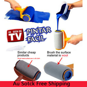 DIY Paint Roller Kit Painting Runner Pintar Facil Decoration As Seen On TV