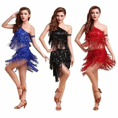 US 2019 Cheap New design Latin dance costume Ballroom dancing outfit  for lady - Ballroom Dance Outfit