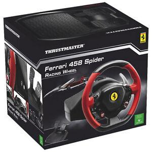 Like New Thrustmaster Steering Wheel Ferrari 458 for XBOX One