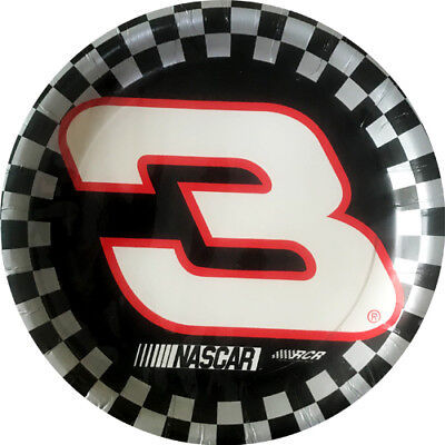 Birthday Paper Products (NASCAR Dale Earnhardt SMALL PAPER PLATES (8) ~ Birthday Party Supplies)