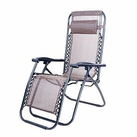 4x Outdoor Foldable Sun Lounger Chair (NEW! Never used! Unpacked!)
