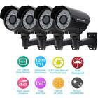 Black CCTV Home Security Cameras