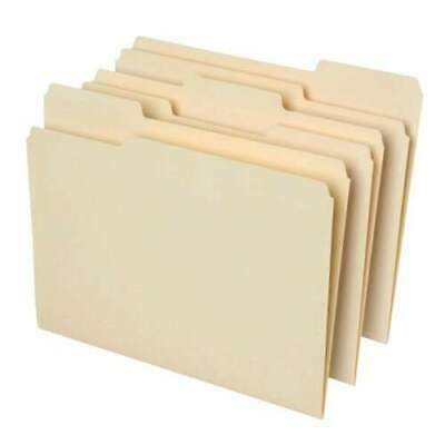 Office Depot File Folders 13 Cut Letter Size 30 Recycled Manila 100 Pack
