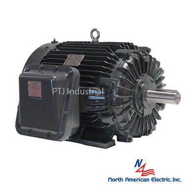 40 Hp Explosion Proof Electric Motor 364t 3 Phase 1200 Rpm Hazardous Location