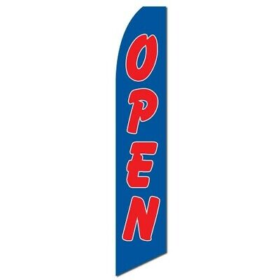 Open Banner Flag Only Advertising Sign Flutter Feather Bow Banner Swooper