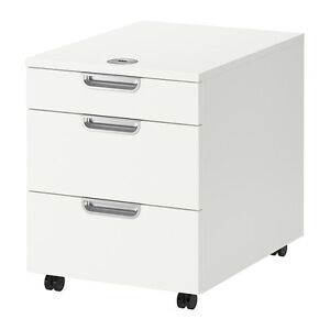 2x Galant Ikea Office / Storage drawer cabinet