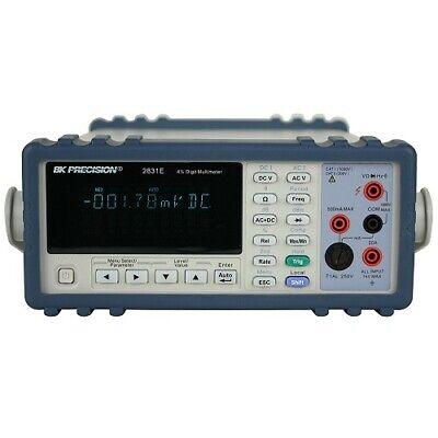 Bk Precision 2831e Dual Display 4 12 True Rms Bench Multimeter 220v