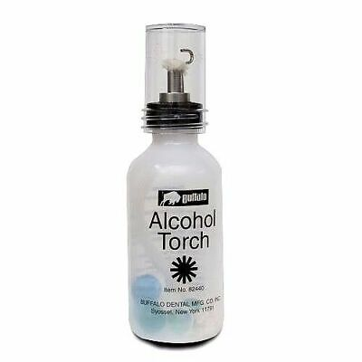 Alcohol Torch With A Needle-point Medical Dental Lab Easy Squeeze Buffalo