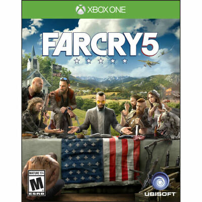 Far Cry 5 (Microsoft Xbox One) FARCRY 5 BRAND NEW FACTORY SEALED