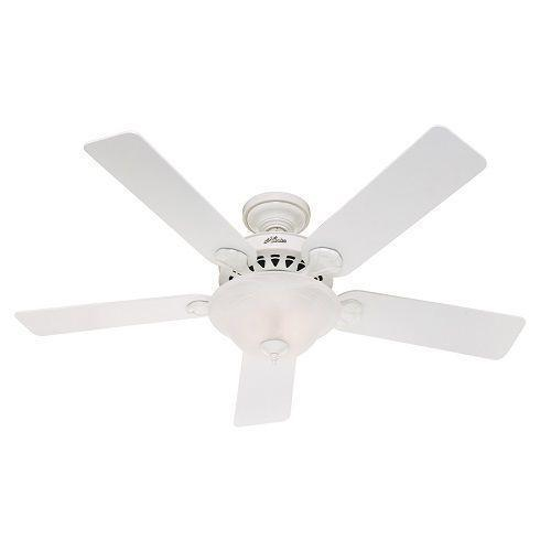 "Hunter 52"" White Ceiling Fan"