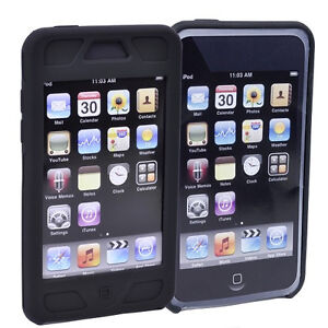 Kickstand Case & Silicone Skin for iPod Touch 2nd 3rd Gen screen protector